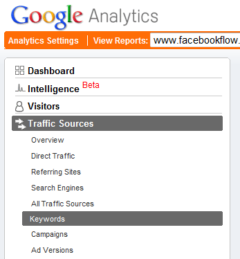 google-analytics-keywords