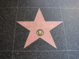 Arnold-Schwarzenegger's-star-on-the-Hollywood-Walk-of-Fame