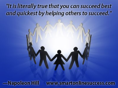 Napoleon Hill Success Quote