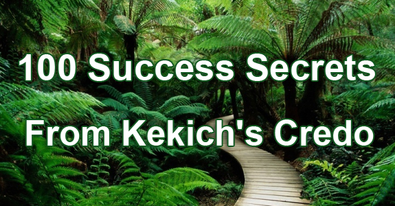 Kekich-credo-success-secrets