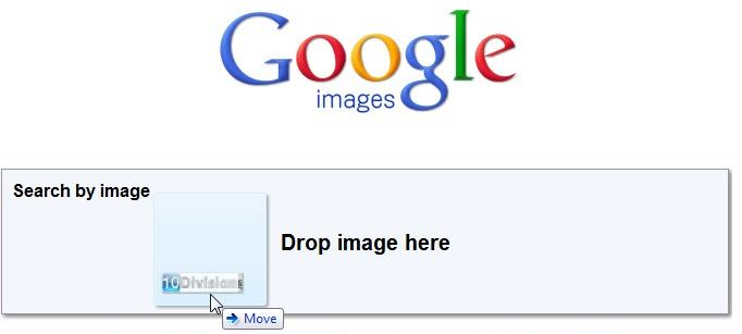 google-images-drag-and-drop